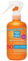 Kiss My Face Sun Spray Natural Sunscreen Lotion With Hydresia SPF 50 Sunblock