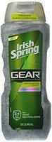Irish Spring Gear Body Wash