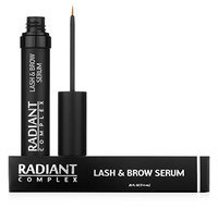 Radiant Complex Lash & Brow Serum l Best Eyelash and Eyebrow Growth Product to Enhance Eyelashes and Eyebrows