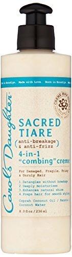 Carols Daughter Sacred Tiare Anti-Breakage & Anti-Frizz 4-In-1 Combing Creme