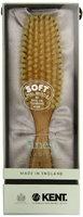 Kent Brushes Narrow Satin Wood Hairbrush