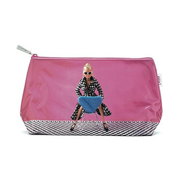 Catseye Doll On Chair Cosmetic Bag