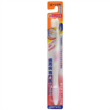 TAISHO BU02P03978 Dentwell Super Compact Soft Toothbrush