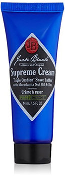 Jack Black Supreme Cream Triple Cushion Shave Lather