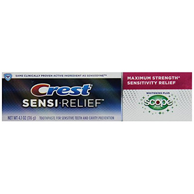 Crest Sensi-Reliefwhitening+Scopemintyfreshflavortoothpaste4.1oz