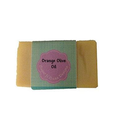 Sugar N Sass Designs Orange Olive Oil Bar Soap
