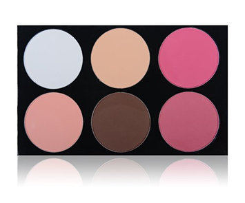 SHANY Masterpiece 6 Colors Large Contour and Blush Palette/Refill