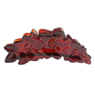 Caravan French Rose Bush Hair Claw Tortoises Shell