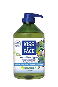 Kiss My Face Fragrance Free Natural Shower Gel
