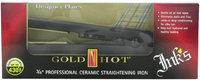 Gold 'N Hot Professional Ceramic Straightening Iron Inks