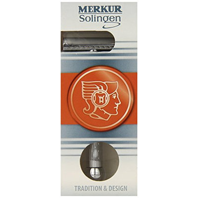 Merkur-Razor Chrome-Plated Safety Razor