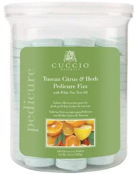 Cuccio Tuscan Citrus and Herb Pedicure Fizz Tablets
