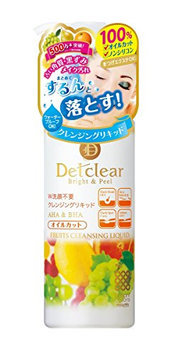MEISHOKU Detclear Bright and Peel Fruit Cleansing Liquid