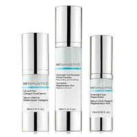 MD Formula P.H.D Lift and Firm Collagen Facial Serum and overnight Eye Regenerator
