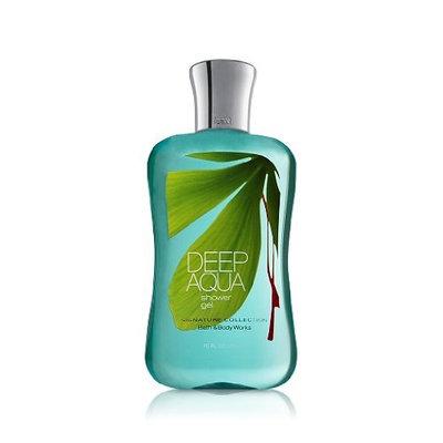Bath & Body Works Signature Collection Deep Aqua Shower Gel