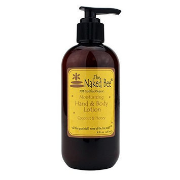 The Naked Bee - Coconut & Honey Hand & Body Lotion 8 Oz. with Pump