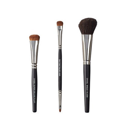 VEGAN LOVE The Chisel Collection Make Up Brush Set (Super Deluxe Fluff