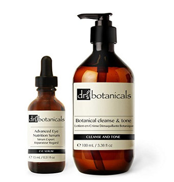 Dr Botanicals Cleanse and Tone Plus Advanced Eye Nutrition Serum