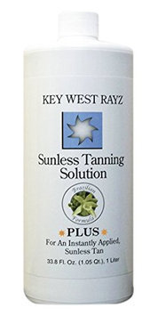 Key West Rayz Sunless Tanning Solution Plus 10%