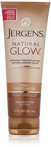 Jergens Glow Daily Moisturizer Med to Tan