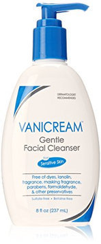 Vanicream Gentle Facial Cleanser for Sensitive Skin with Pump Dispenser