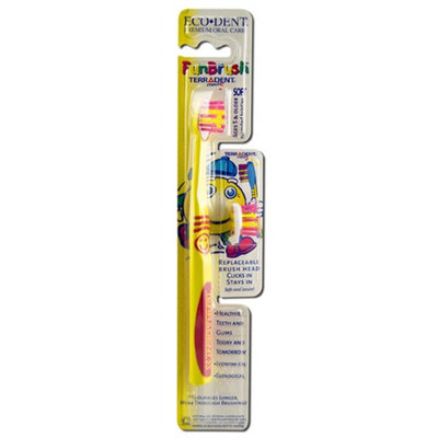 Terradent Funbrush Toothbrush with Refill and Toothbrush