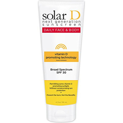 Solar D Sunscreen Face & Body SPF 30 Sunscreen