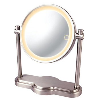 Ovente MHT80BR Dual Sided Multi Touch Tabletop Vanity Mirror