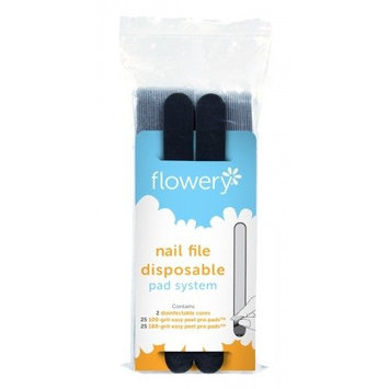 Flowery Nail File Disposable Pad Refill 100 Grit
