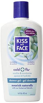 Kiss My Face Cold & Flu Natural Moisturizer Shower Gel