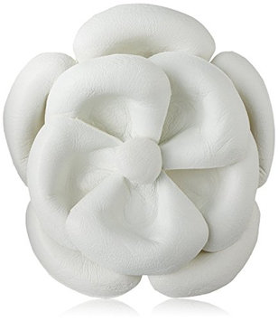 Emi Jay Large Leather Camellia Barrette