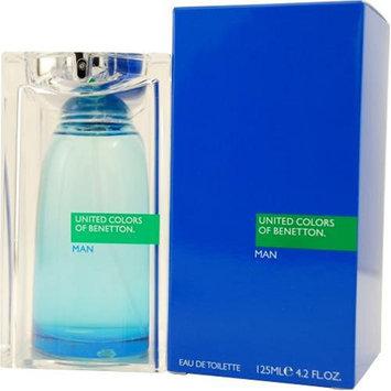 United Colors Of Benetton By Benetton For Men. Eau De Toilette Spray 4.2-Ounces