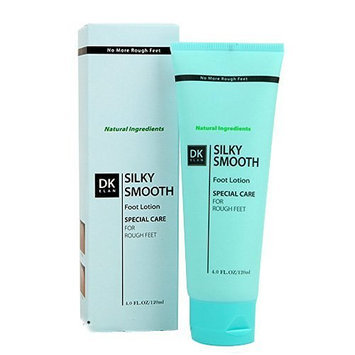 DK ELAN Silky Smooth Foot Lotion (4 oz) - No More Dry Rough Feet