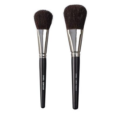 VEGAN LOVE The Chisel Collection Make Up Brush Set (Chisel Contour Chisel Jumbo Powder)