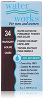 Waterworks Permanent Powder Hair Color #34 Mahogany