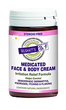Mushatt's No. 9 Medicated Face & Body Cream