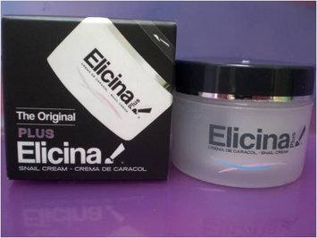 Elicina PLUS Crema de Caracol Snail Cream with Moisturizer 1.3 oz (40g)