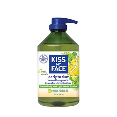Kiss My Face Early-to-Rise Natural Moisturizer Shower Gel