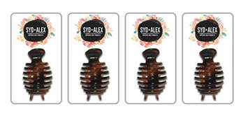 SYD & ALEX - Superior Hair Products - Black Claw Clip 4PC Value Pack