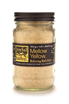Joyful Bath Mellow Yellow Relieving Bath Salts
