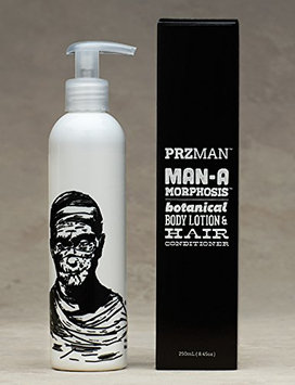 PRZman Man A Morphosis Botanical Body Lotion and Hair Conditioner
