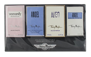 Thierry Mugler Miniatures Collection 4 Piece Mini Gift Set for Women