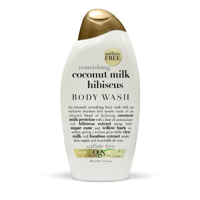 OGX® Nourishing Coconut Milk Hibiscus Creamy Body Wash