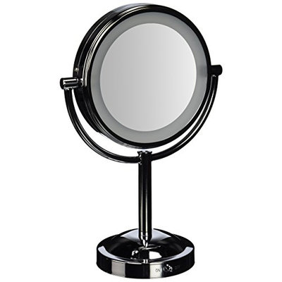 Conair Double-Sided Battery-Operated Lighted Makeup Mirror