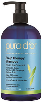pura d'or Scalp Therapy Shampoo