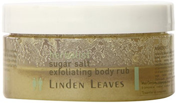 Linden Leaves Herbalist Sugar Salt Body Rub