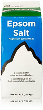 White Mountain Epsom Salt Magnesium Sulfate Soaking Solution