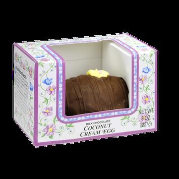 C.A. Casher Milk Chocolate Coconut Cream Egg