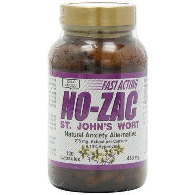 Ony Natural Only Natural St. Johns Wort (no Zac) 450 Mg, 120-Count