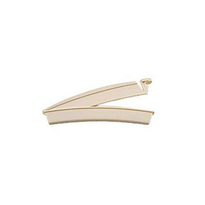 Drainable Pouch Clamp Beige, 1 ea